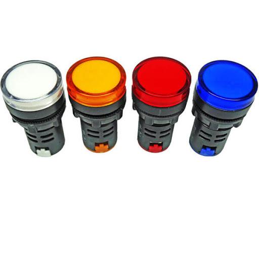 چراغ سیگنال هیمل 220 ولت AC/DC زرد سری HLD11