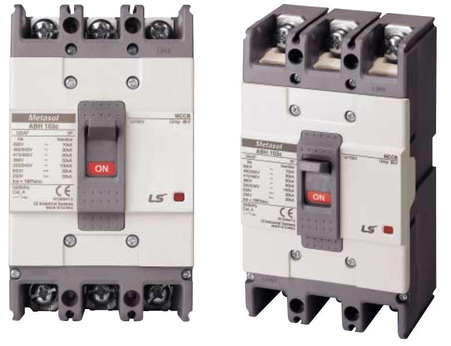 کلید کمپکت قابل تنظیم 125A-250A LS