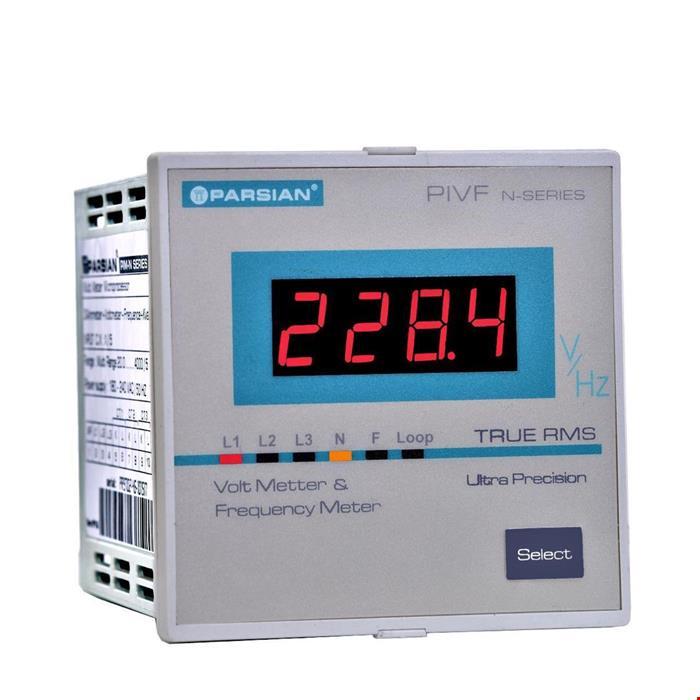 ولتمتر+فرکانس متر دیجیتال